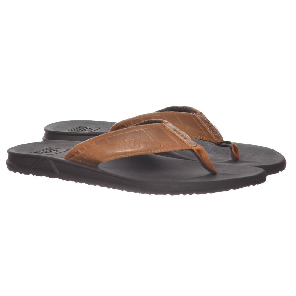 96eb50988884 Reef Mens Phantom Le Flat Flip Flop - Brown   Tan - MENS from ...