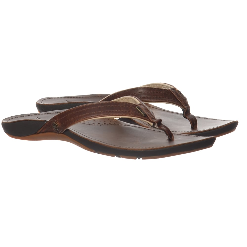 333f0424b96e Reef MISS J-BAY Flip Flops - Leather Upper - Brown   Brown - WOMENS from Onlineshoe  UK