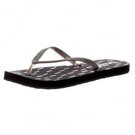STARGAZER PRINTS - Flat Flip Sandal - Grey