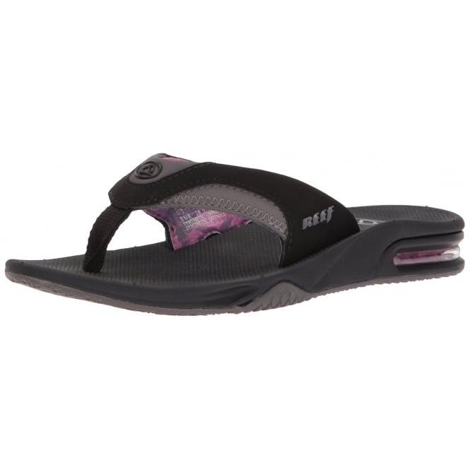 9c391b317f02 Women  039 s Fanning - Flat Flip Flops With Bottle Opener - Black Grey