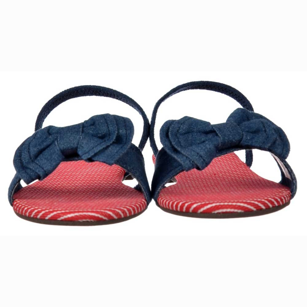 ea47e54bed3 Rocket Dog Babydoll Strappy Sandals - Bow Detail Shoes - Blue Denim ...