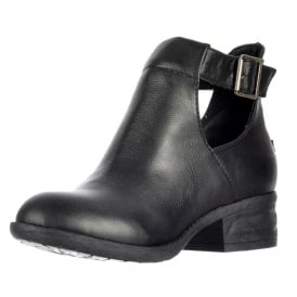 Darye Derby Cut Out Chelsea Ankle Boot With Buckles