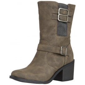 Dayton Heeled Casual Ankle Boot