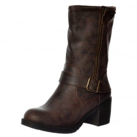 Hallie Galaxy Mid Calf Boots