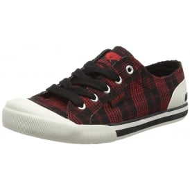 Jazzin - Canvass Flat Lace Up Trainers