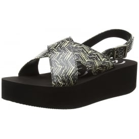 Kelby Wedge Peep Toe Sandals