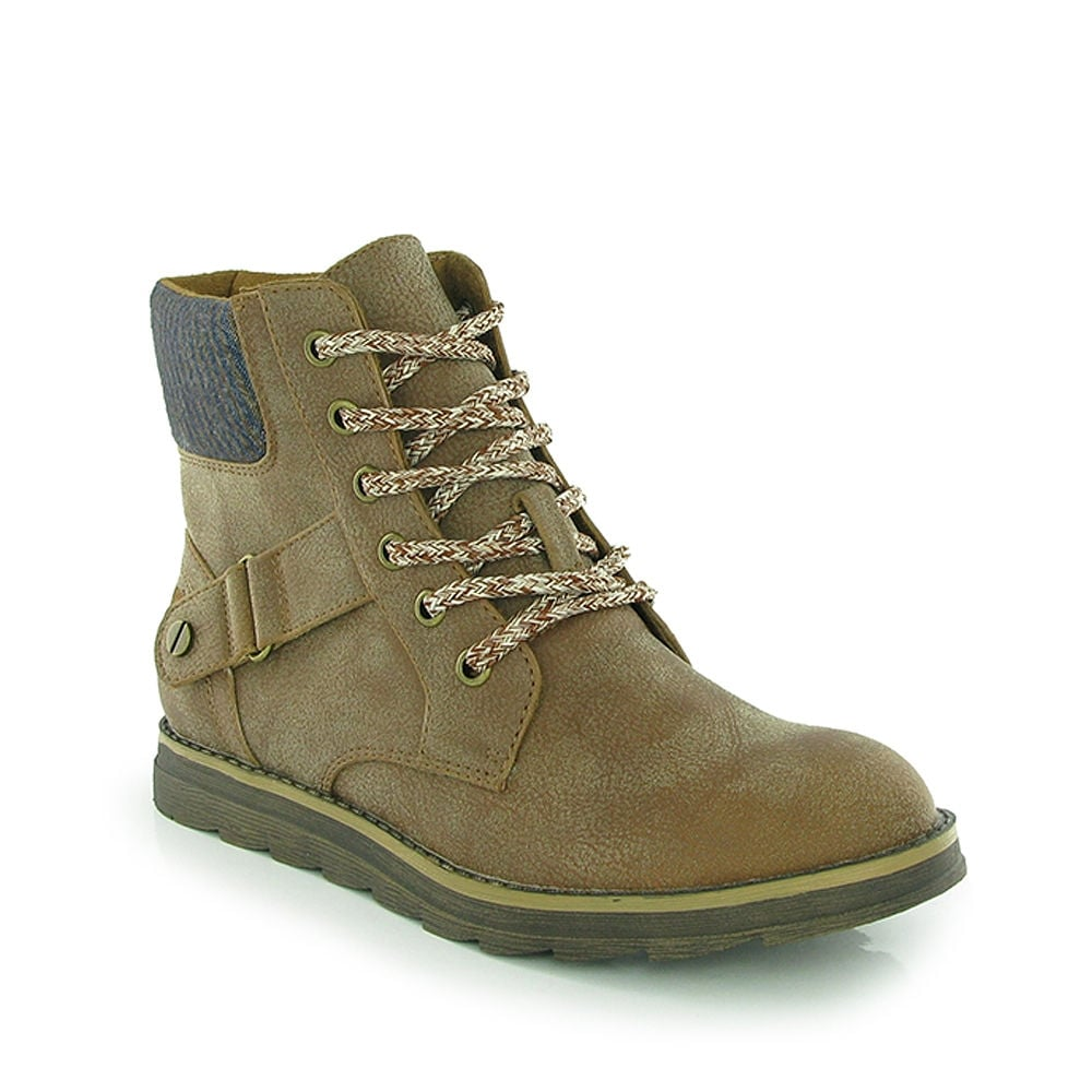 a22fe632d Rocket Dog Mesa Lace Up Ankle Boot - Tan, Brown - WOMENS from ...
