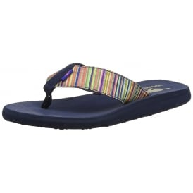 Nina Bubble Strip Flip Flop