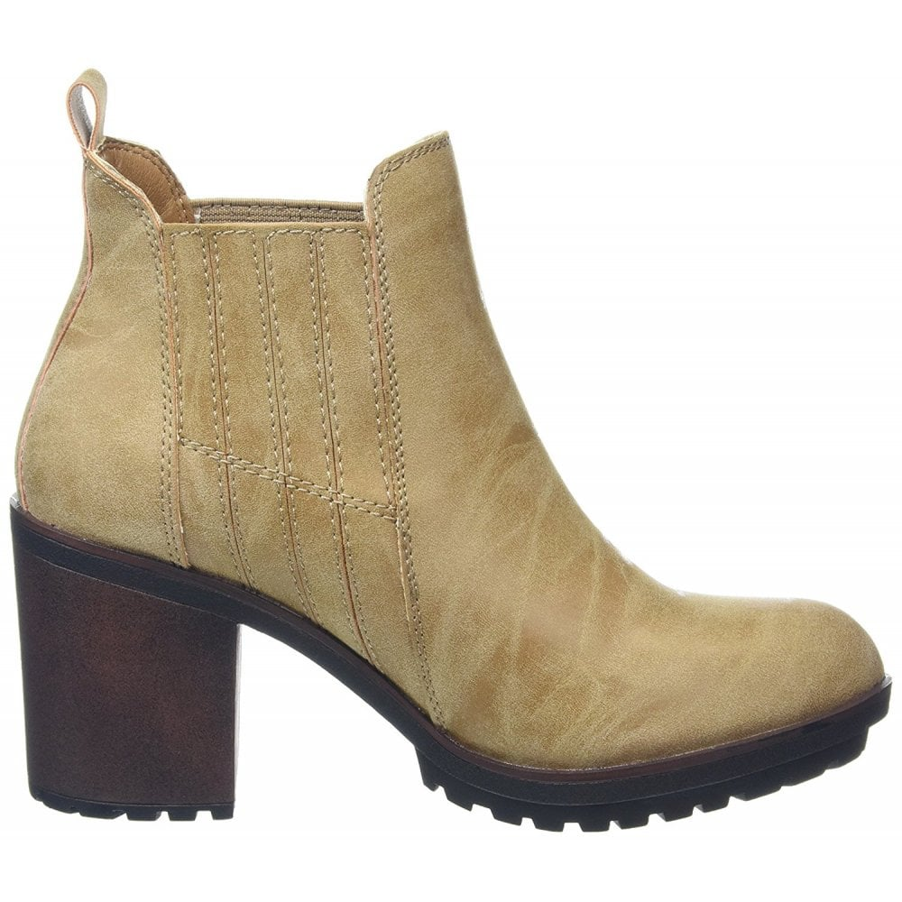 b8f9f09ab956 Rocket Dog Raegan Pull On Heeled Ankle Boots - WOMENS from Onlineshoe UK