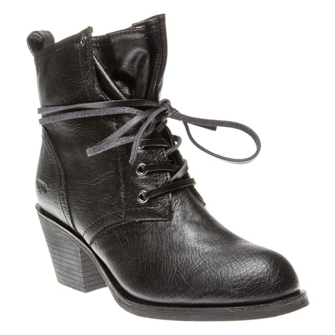 Rocket Dog Raid Lace Up Block Heeled Ankle Boot