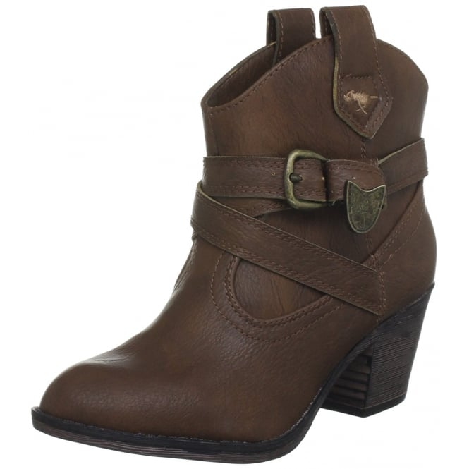 Rocket Dog Satire Western Cowboy Style Ankle Boots Cuban Heel