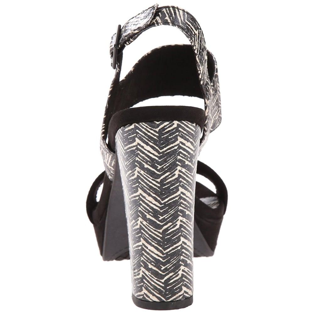 Rocket Dog Women's Studio Coast Fabric Platform Dress Sandal UK4 - EU37 - US6 - AU5 Black avwOnS