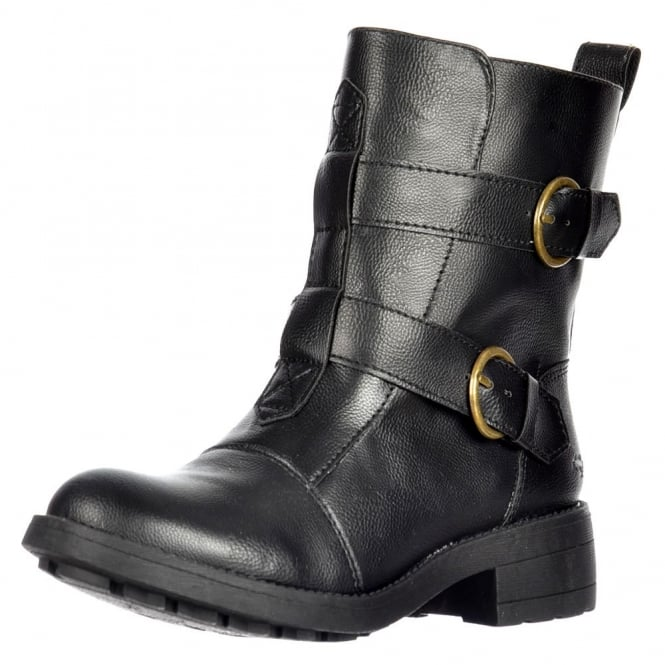 Rocket Dog Talisa Biker Ankle Boot - Buckles and Straps