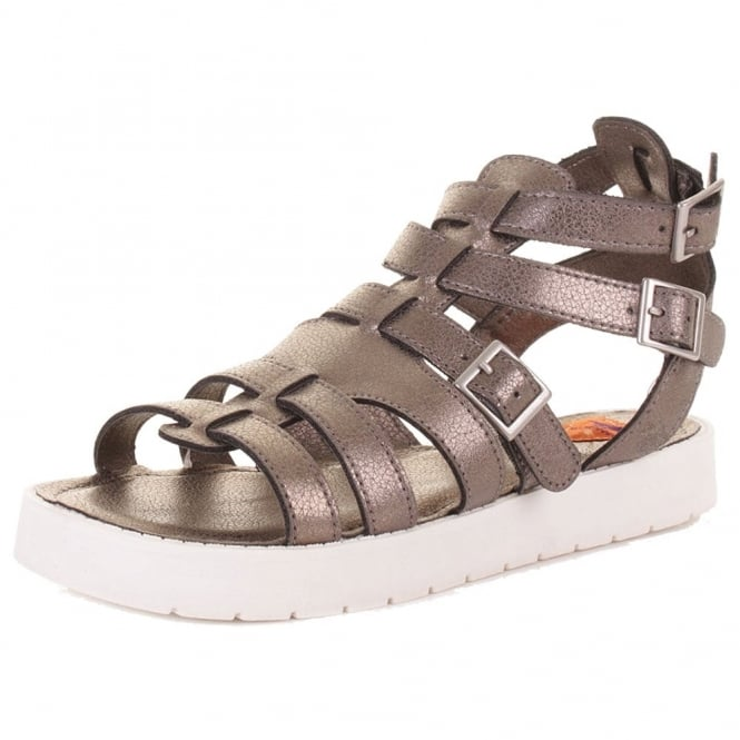 Rocket Dog Thana Gladiator Cleated Sole Buckled Sandal