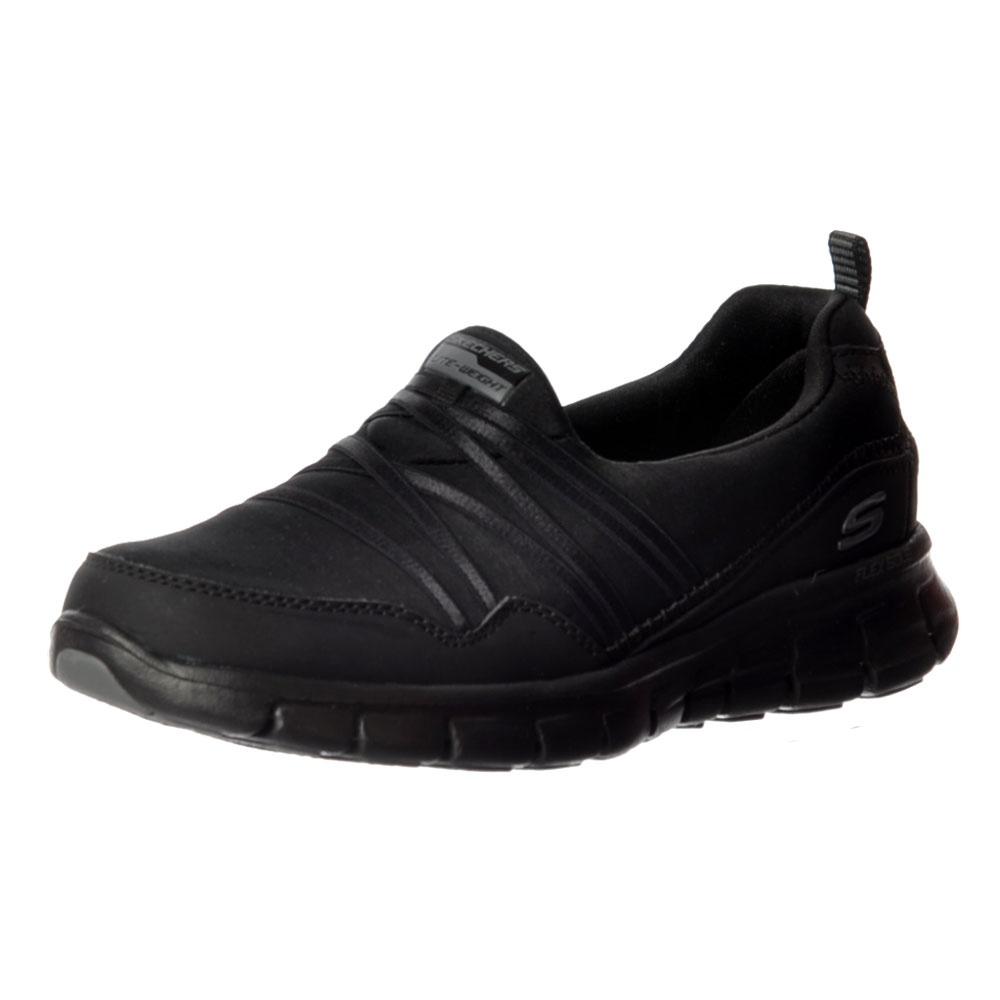 0f9cd542e7475 Synergy Scene Stealer Memory Foam Flex Appeal Walking Shoes - Black, Black  / Multi,