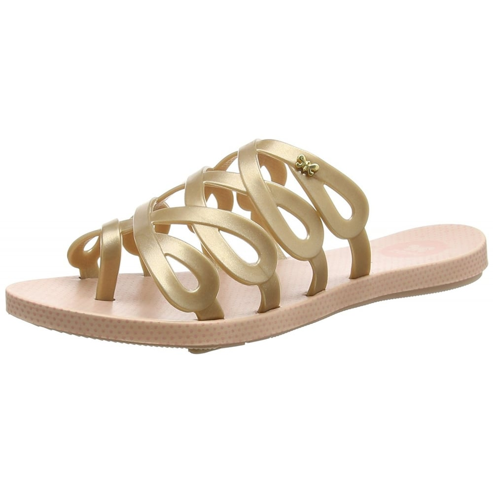 01236abaa5a5 Zaxy Infinity Flat Slip on Jellie Flip Flop Sandal - Blush - WOMENS ...